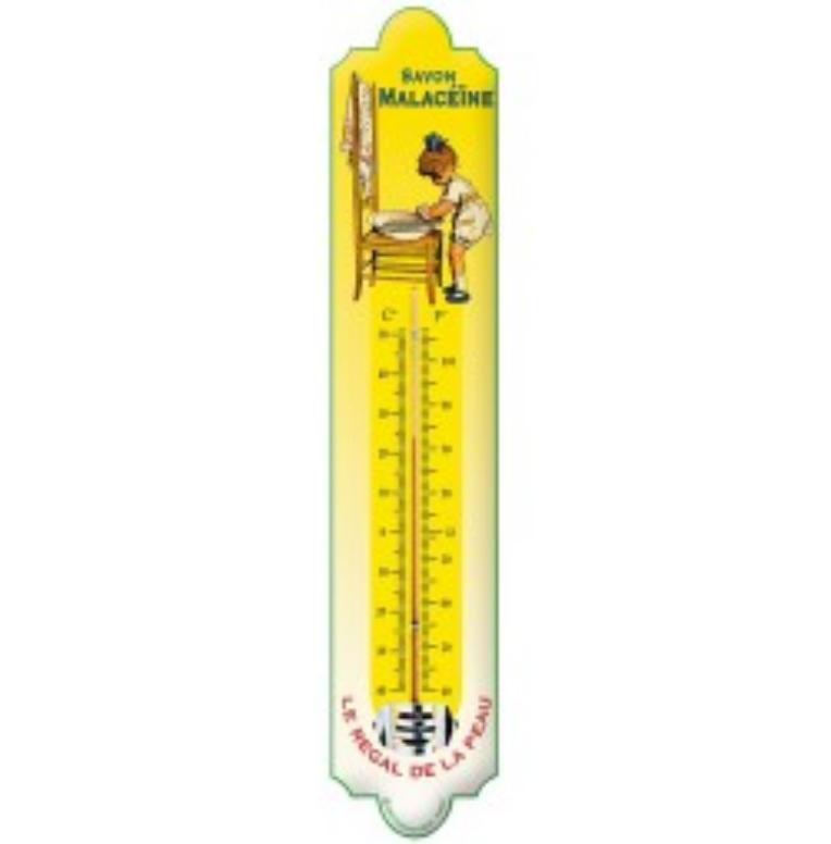 Thermomètre émaillé savon Malacéine