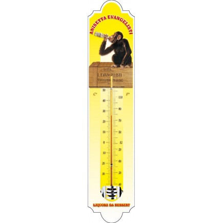 Thermomètre émaillé Anisetta évangelisti