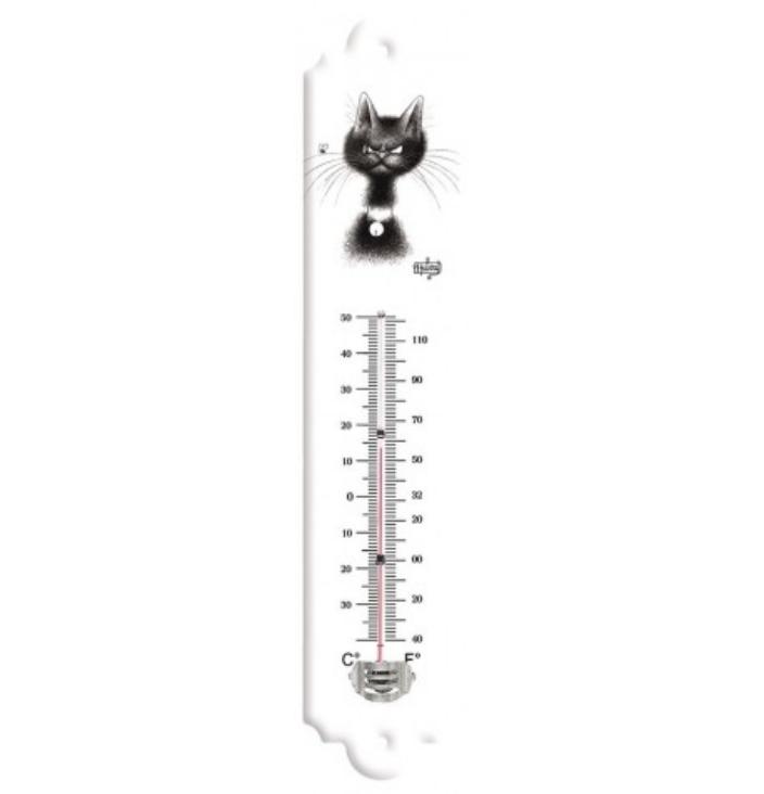 Thermomètre La mouche - Chats Dubout