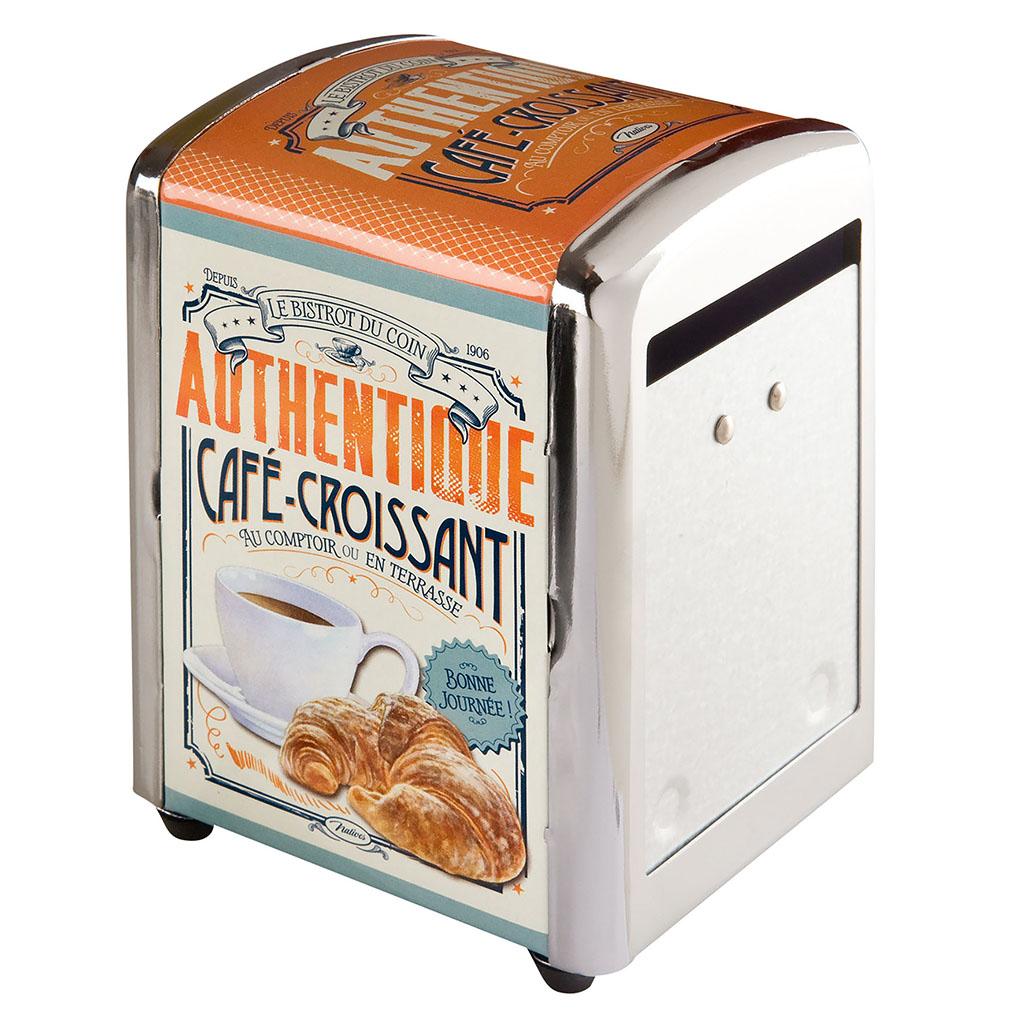 Distributeur de serviettes Café Croissant