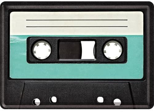 Plaque vintage cassette 30x20