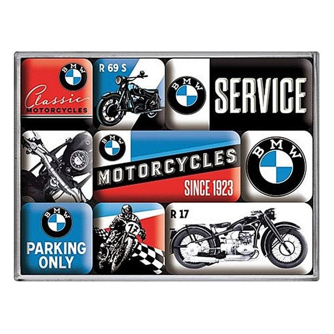 Lot de 9 magnets BMW