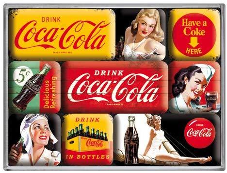 Magnet coca cola vintage