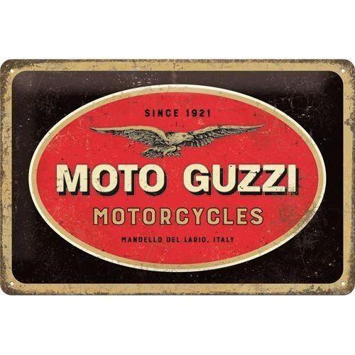 Plaque Moto Guzzi 30 x 20