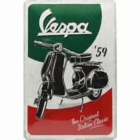 Plaque déco Vespa 40 x 60