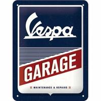 plaque Vespa garage 15x20