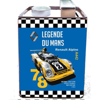 Tirelire bidon Renault alpine Le Mans legend