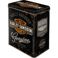 boite métal Harley noire