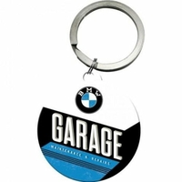 Porte-clé BMW garage