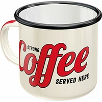 Mug émaillé USA coffee