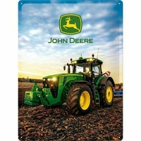 Plaque John Deere  8R  30 x 40