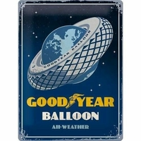 Plaque Goodyear balloon 30 x 40