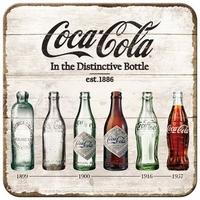 Lot de 5 dessous de verre coca-cola bouteilles