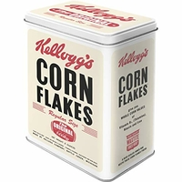 Boite métal Kelloggs corn flakes