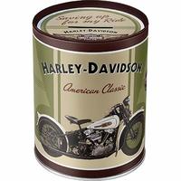 Boite/tirelire harley classic