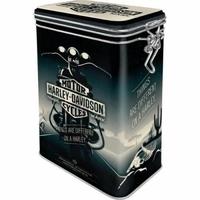 boite hermétique Harley noire