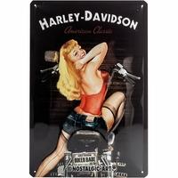 Plaque Harley 20 x 30