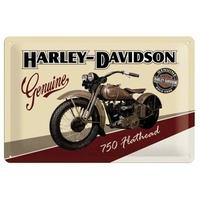 Plaque Harley 30 x 20