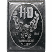 Plaque Harley 30 x 40