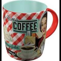 Mug rétro coffee