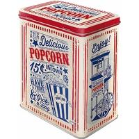 Boite métal vintage pop-corn