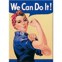 Magnet we can do it 6 x 8