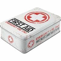 Boite métal first aid