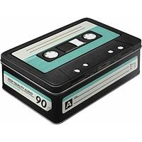 Boite métal rétro cassette