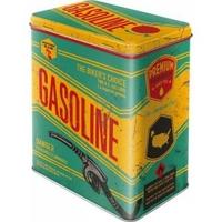 Boite métal vintage Gasoline
