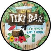 Horloge Tiki-bar