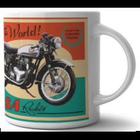 Lot de 2 mugs BSA moto