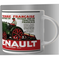 Lot de 2 mugs tracteur Renault
