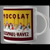 Lot de 2 mugs Delespaul Havez