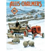 Plaque métal Allis Chalmers  20 x 30