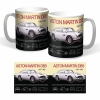 Lot de 2 mugs Aston Martin DB5