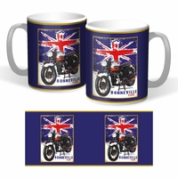 Lot de 2 mugs Triumph Bonneville