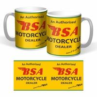 Lot de 2 mugs BSA dealer