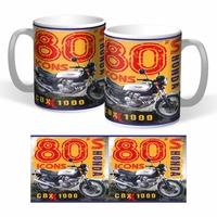 Lot de 2 mugs Honda Cbx 1000