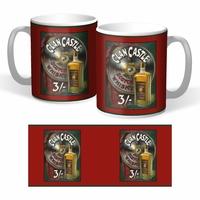 Lot de 2 mugs Whisky clan Castle