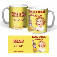 Lot de 2 mugs daddie's sauce