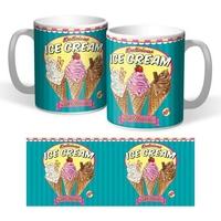 Lot de 2 mugs Ice cream