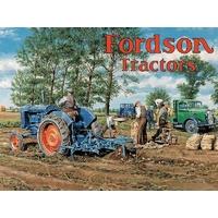 Plaque Fordson tracteur