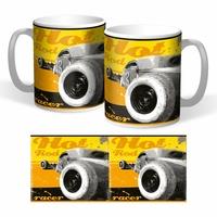 Lot de 2 mugs Hot Rod racer