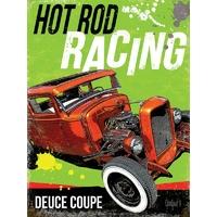 Plaque métal hot rod racing