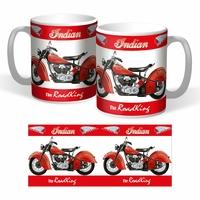 Lot de 2 mugs Indian Roadking