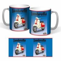 Lot de 2 mugs Lambretta