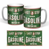 Lot de 2 mugs premium gasoline