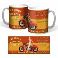 Lot de 2 mugs Lowrider repair