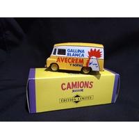 Camionnette Morris LD 150 Gallina Blanca