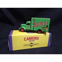 Camion publicitaire bedford 30 CWT Sumol